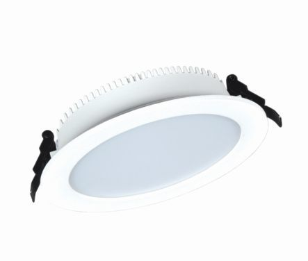 LED луна бяла Lightex 18W ф158х35мм  влагозащитена