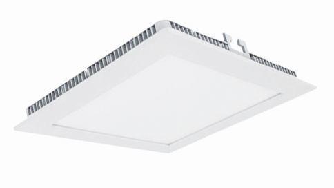 LED луна бяла Lightex 6W 110х110 влагозащитена